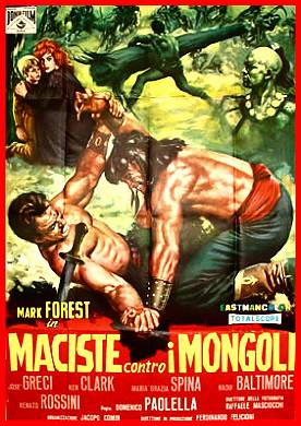 Maciste contro i Mongoli movie