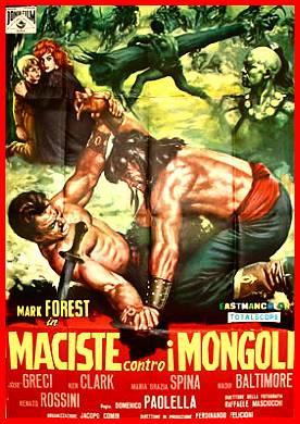 Maciste contro i Mongoli movie