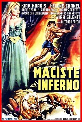 Risultati immagini per Maciste all'Inferno