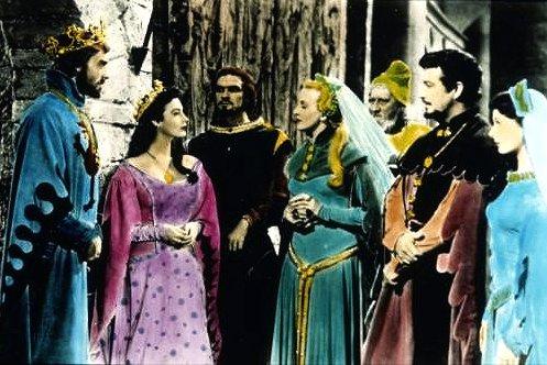 I cavalieri della tavola rotonda 1953 cinema e medioevo - I cavalieri della tavola rotonda film ...