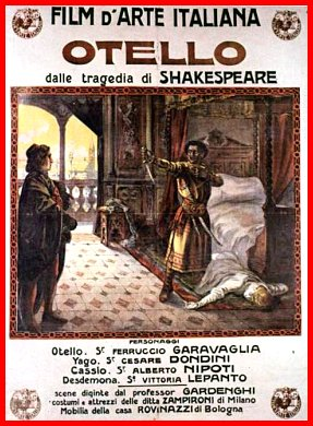 Otello 1909 cinema e medioevo - Porta alla rovina otello ...