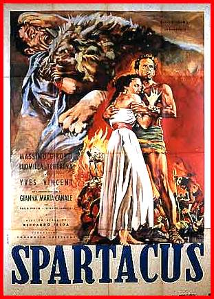 Spartaco 1952 cinema e medioevo - Spartaco roma ...