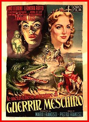 Le meravigliose avventure di Guerrin Meschino (1951 ...