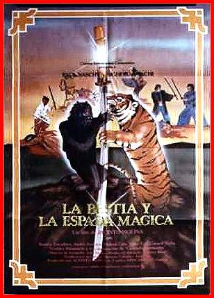 La bestia y la espada magica movie