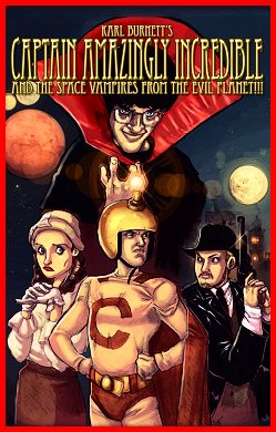 Captain Amazingly Incredible and the Space Vampires from the Evil Planet!!! (2010)