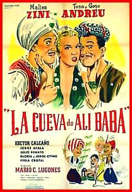 La Cueva de Ali-Babá (1954), Cinema e Medioevo