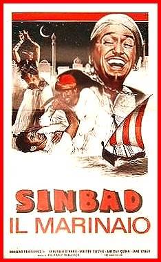 Sinbad il marinaio (1947), Cinema e Medioevo